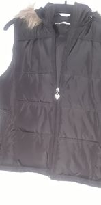 Maurices Ladies vest with hood